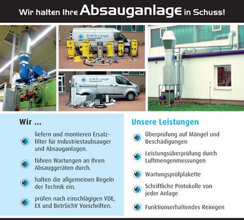 Logo K-W-H Langel Filtersysteme GmbH